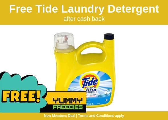 FREE Tide Detergent