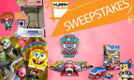 PAW Patrol, Ready, Race, Rescue Nickelodeon Sweepstakes