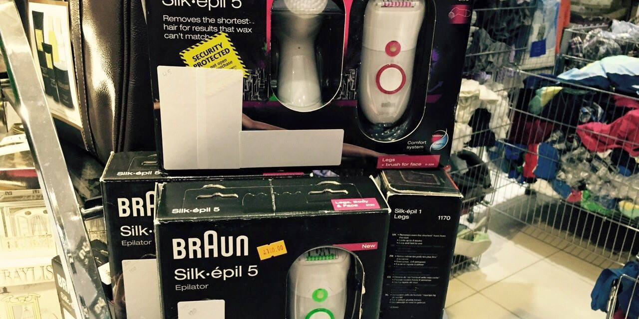 FREE Braun Silk-épil Epilator Sample