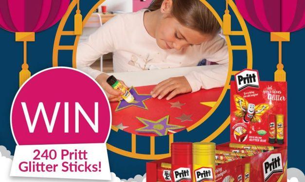 Free Pritt Glitter Sticks