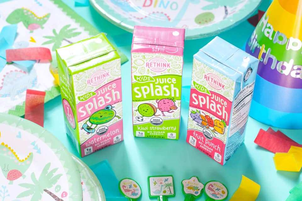 FREE ReThink Water 8-Pack for Kids Party