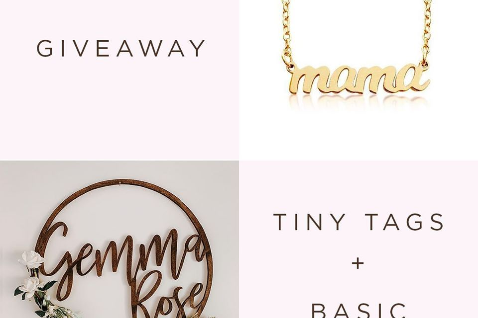 Tiny Tags-Basic Birch Giveaway