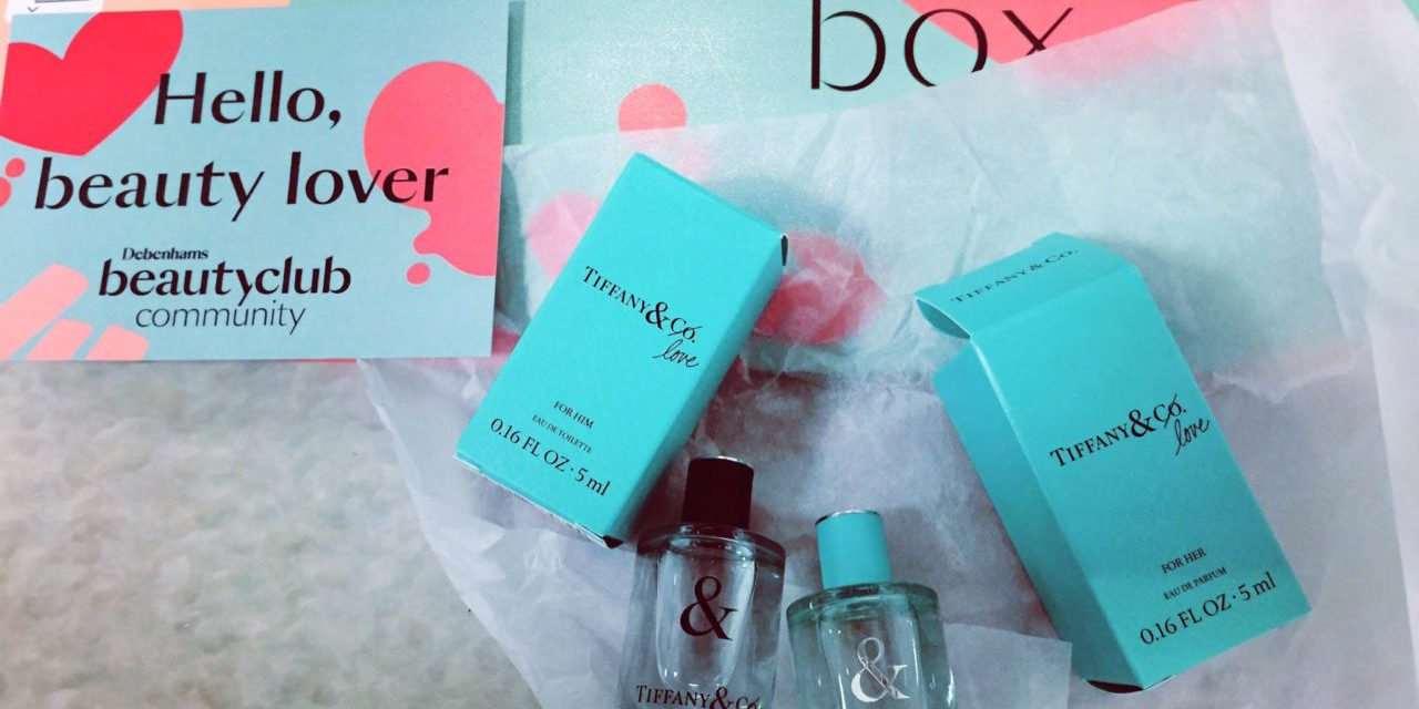 Free Tiffany and Love Him and Her Perfume