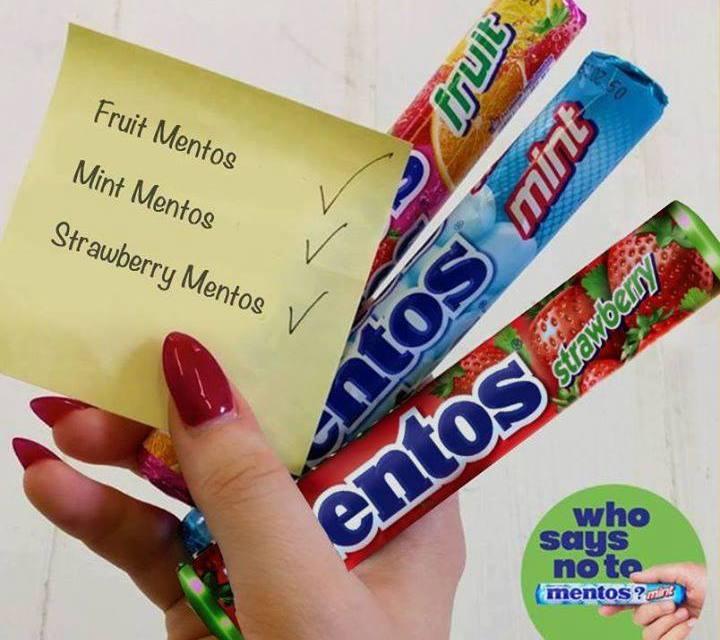 Free Mentos Tropical Flavour Pure Fresh Gum