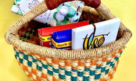 Bolga Basket with Chocolates Giveaway