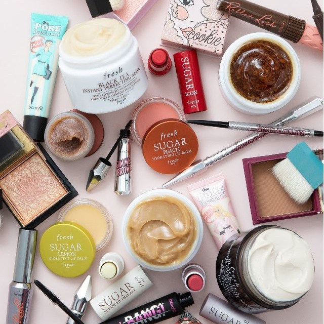 Benefit Cosmetics and Fresh Beauty Instagram Giveaway
