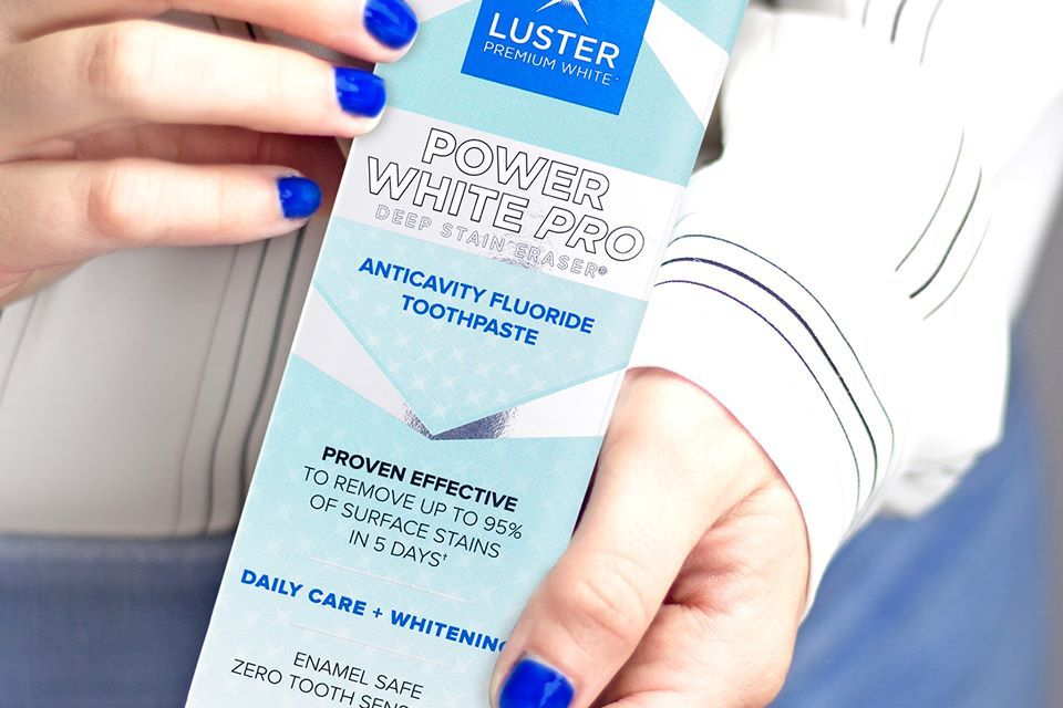 Luster Power White Pro Giveaway