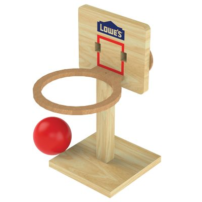Free Tabletop Basketball Build
