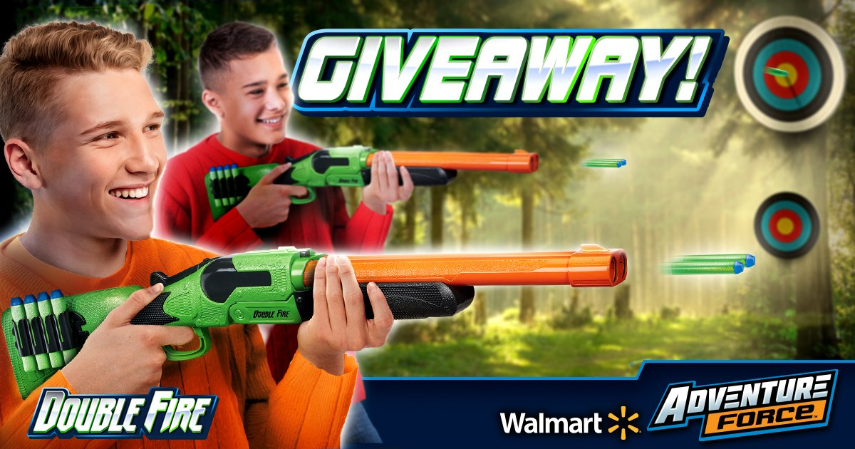 Adventure Force Double Fire Blasters Giveaway