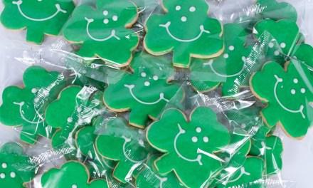 Shamrock Cookies Giveaway
