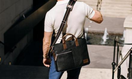 Brookfield Leather Slim Brief Giveaway