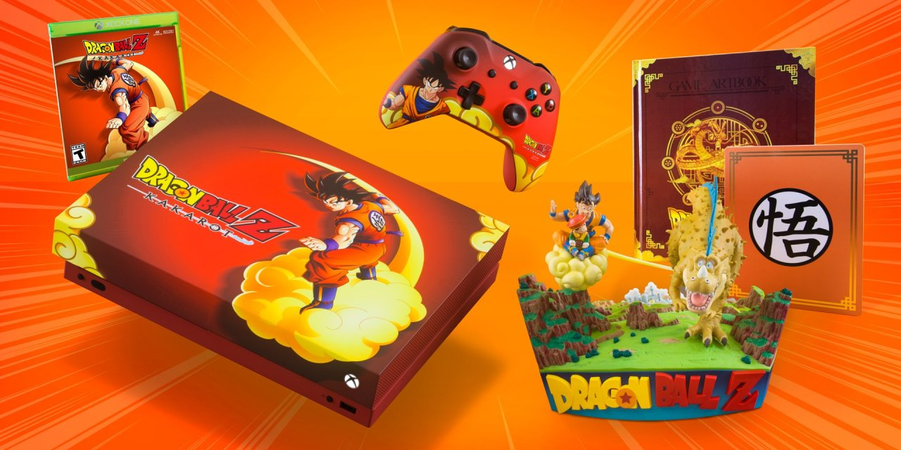 Dragon Ball Z Kakarot Xbox One X Giveaway