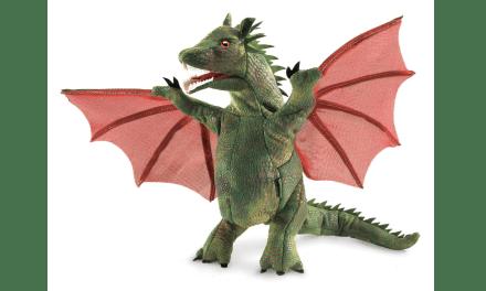 Plush Dragon Puppet Giveaway