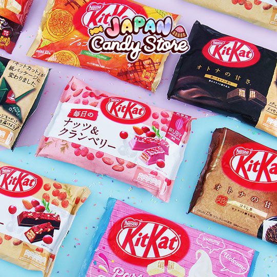 Free Japanese Kit Kats