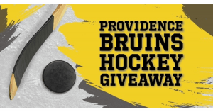Providence Journal Providence Bruins Hockey Giveaway