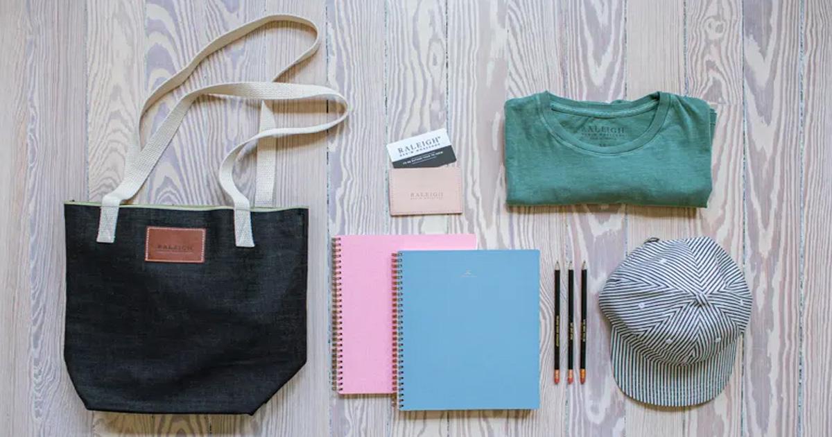 Raleigh Denim Tote Bag Prize Pack Giveaway