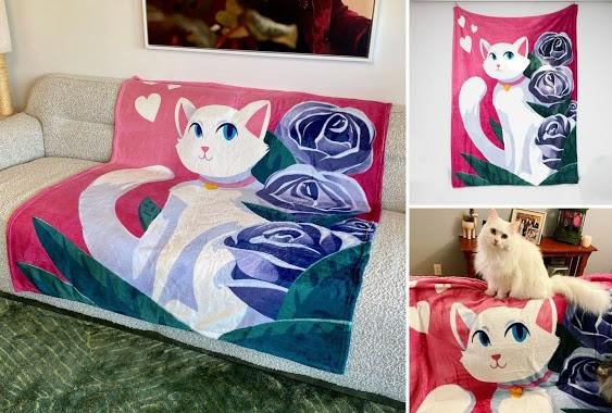 Pretty Kitty Blanket Giveaway