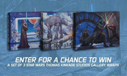 Thomas Kinkade Star Wars Giveaway