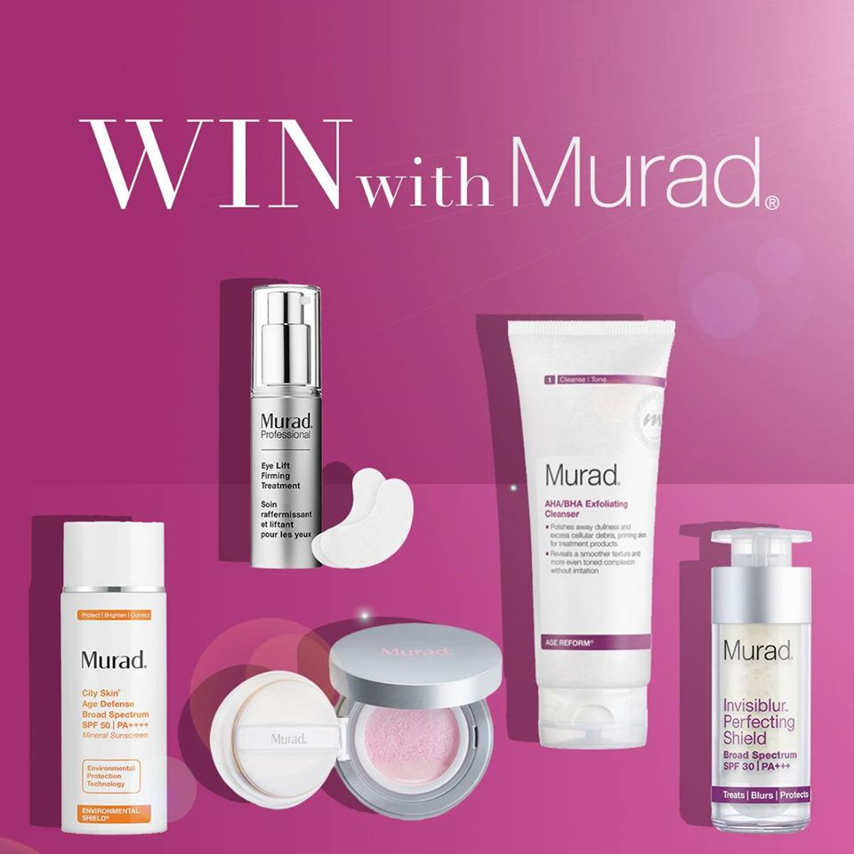 free-murad-skincare-products