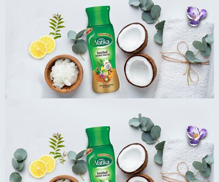 FREE Dabur Vatika Hair Oil Sample