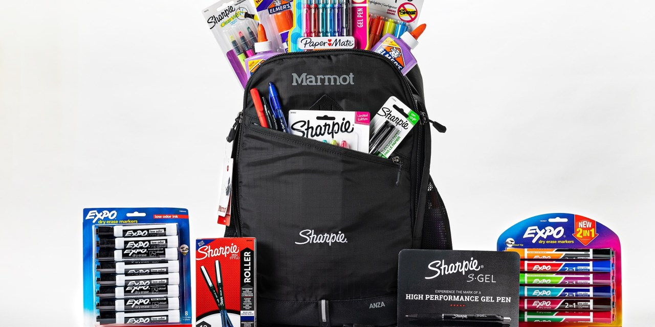 Quill Marmont Sharpie Backpack Giveaway