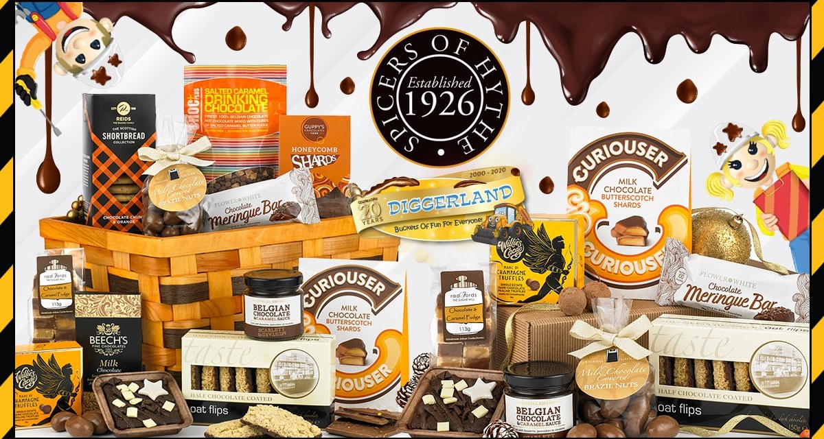 Free Deluxe Chocolicious Hamper