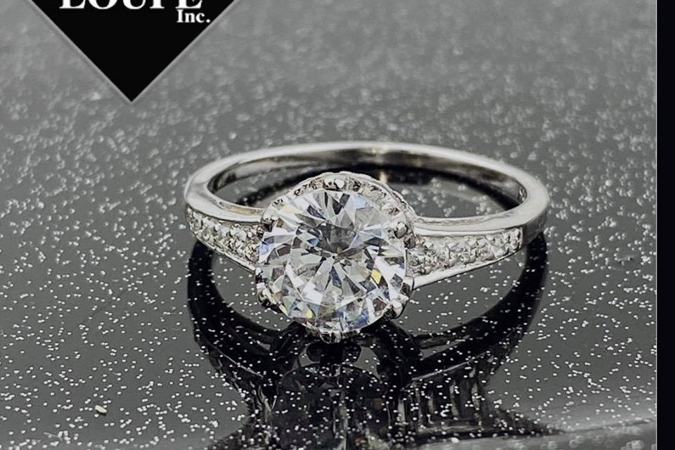 Silver Cubic Zirconia Ring Giveaway