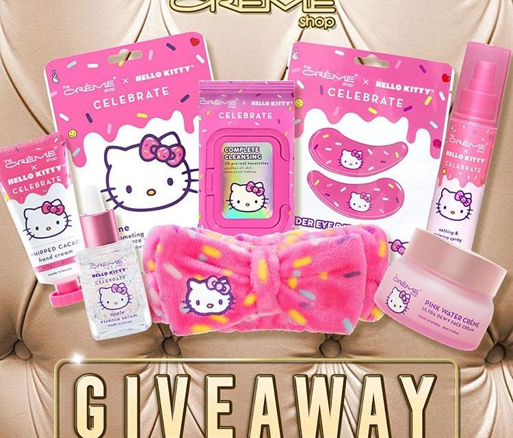 The Crème Shop Hello Kitty Giveaway