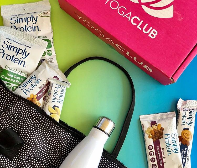 Simply Protein and Yoga Club Instagram Giveaway