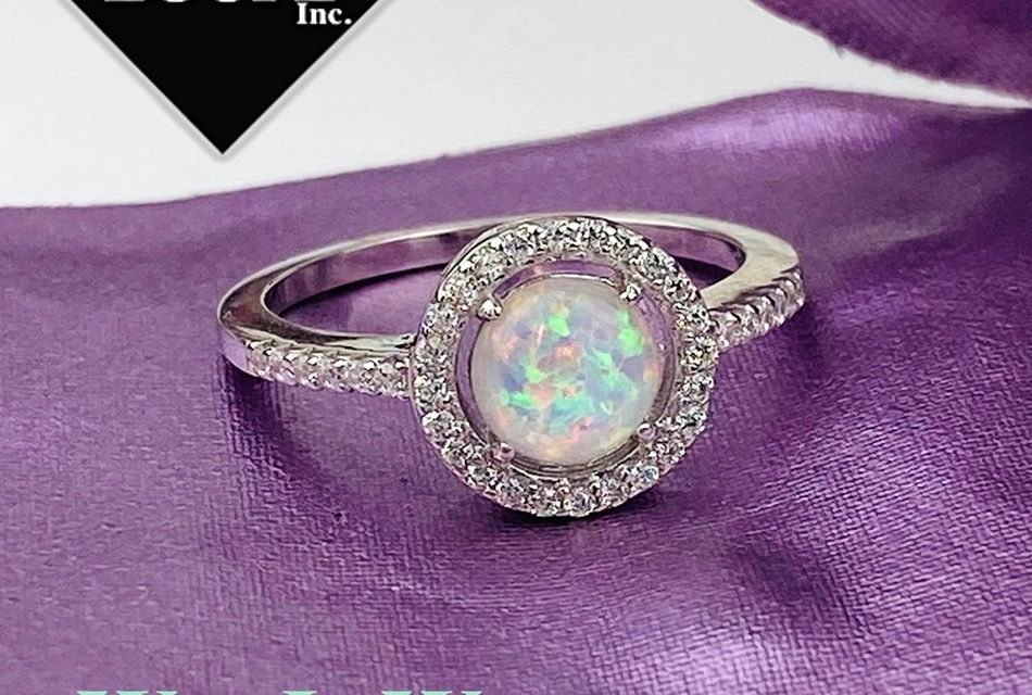 Jeweler's Loupe Opal Ring Giveaway