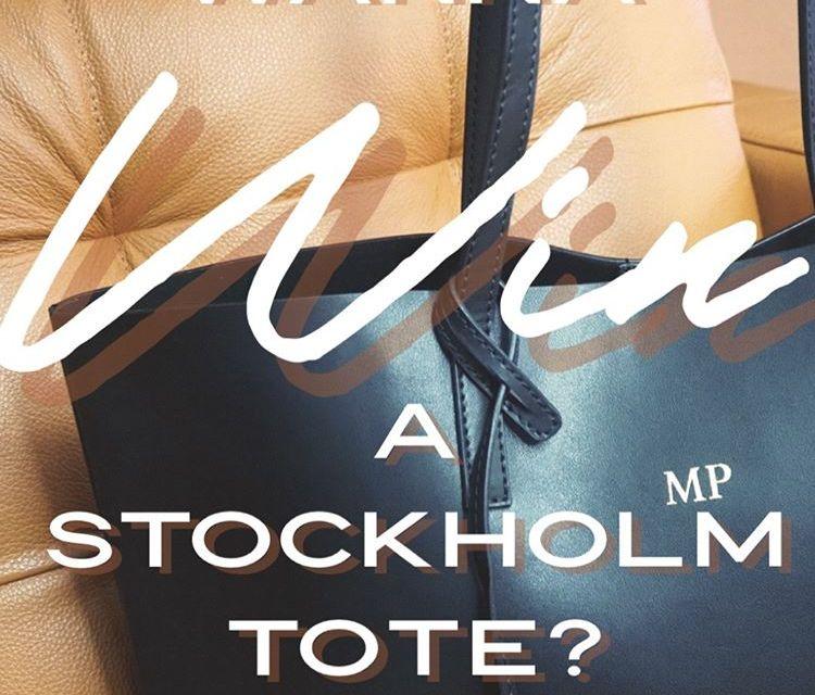 Free Stockholm Tote Bag