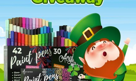 The Artistro St. Patrick's Day Giveaway