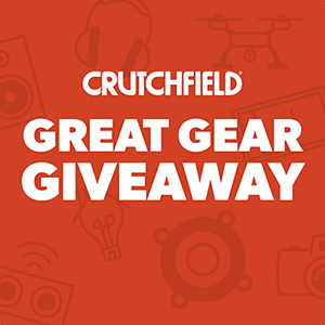 Crutchfield Great Gear Giveaway
