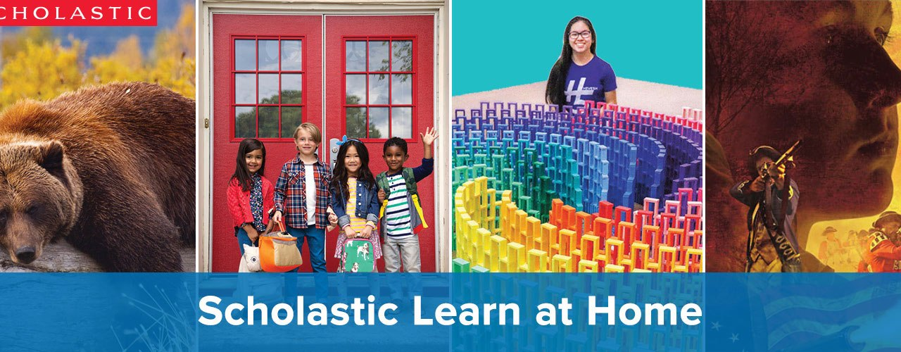 Free Scholastic Learn at Home Program