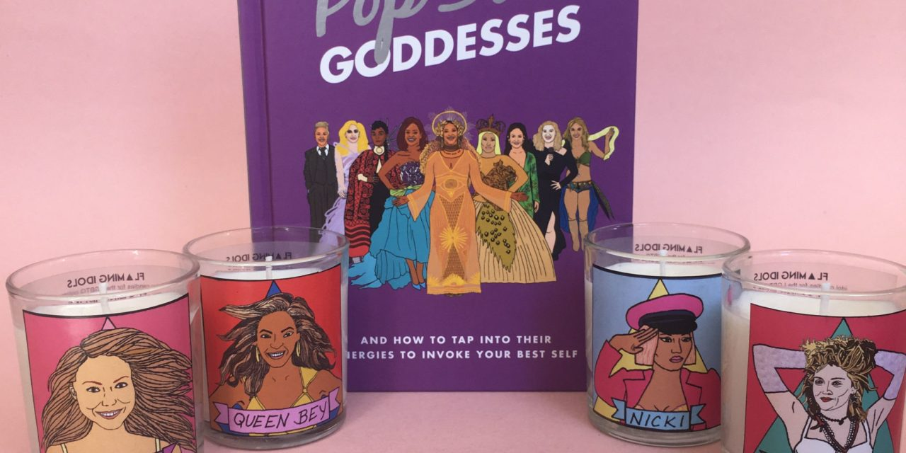 Pop Star Goddess Book and Candle Sweepstakes