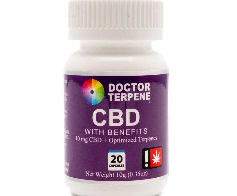 FREE Doctor Terpene CBD with Benefits Sample