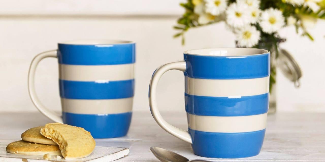 Free Cornishware Blue Mug