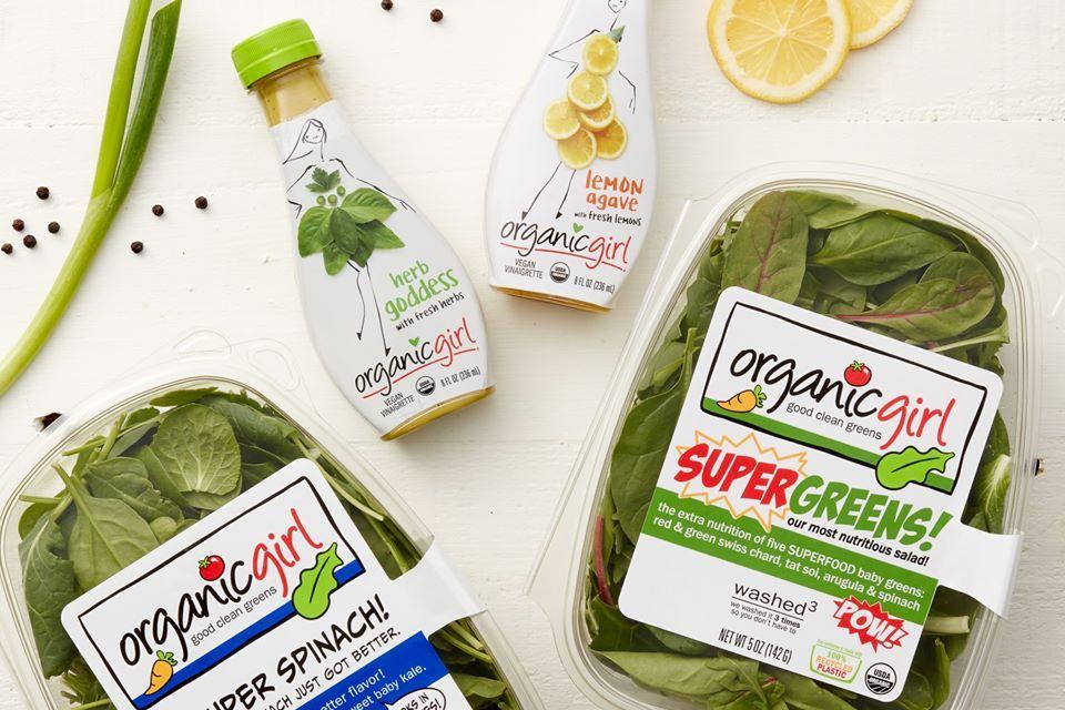 OrganicGirl Salads and Dishcloth Giveaway