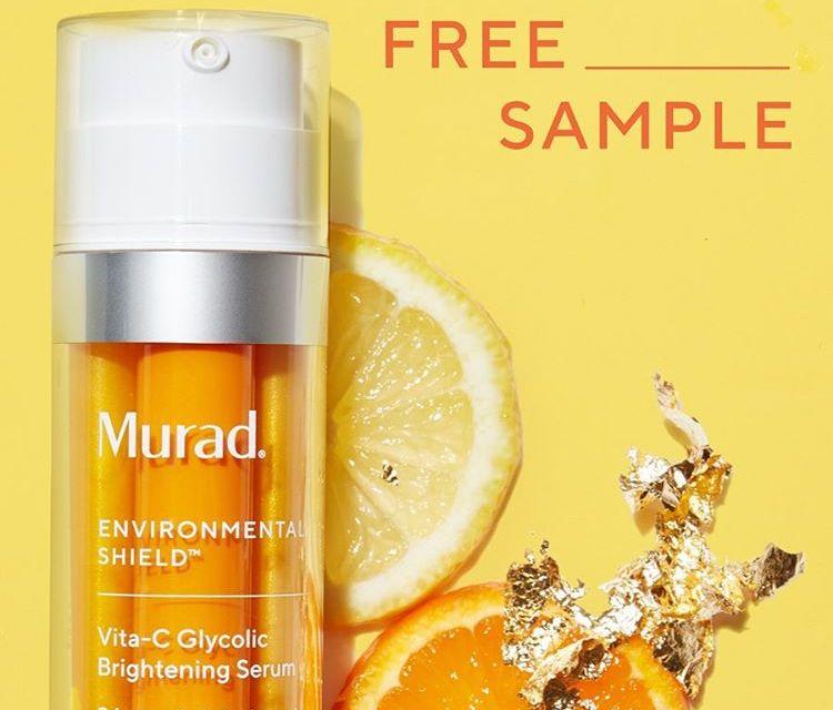 FREE MURAD Vita-C Glycolic Brightening Serum