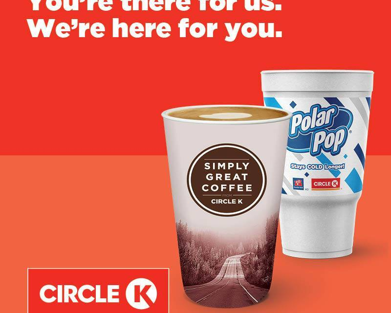 FREE Drinks at Circle K