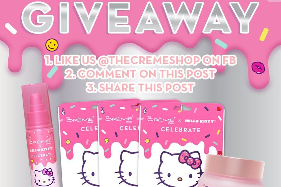 The Creme Shop Hello Kitty Hydration Giveaway