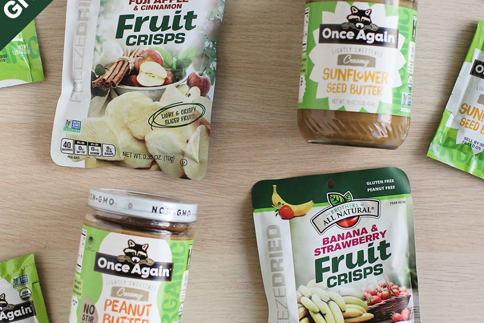 Brothers All Natural & Once Again Nut Butter Giveaway