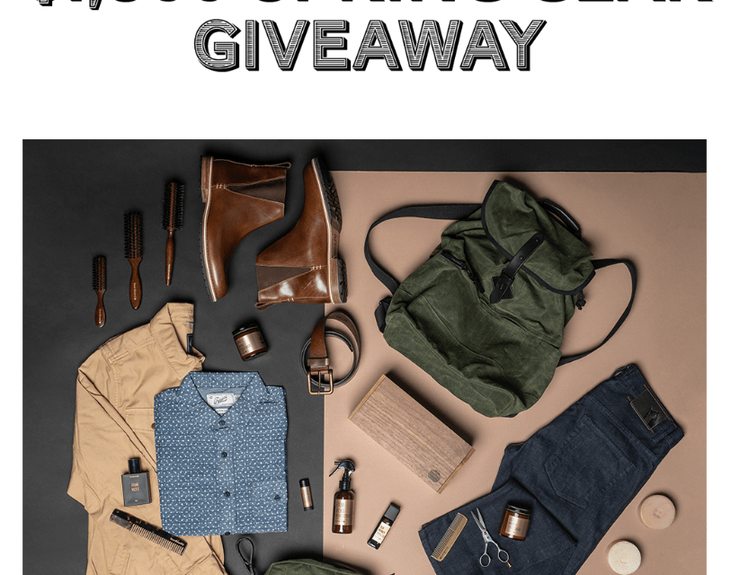 Spring Gear Giveaway