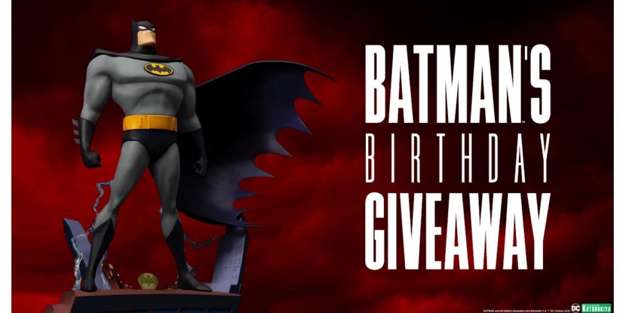 Sideshow Batman Birthday Giveaway