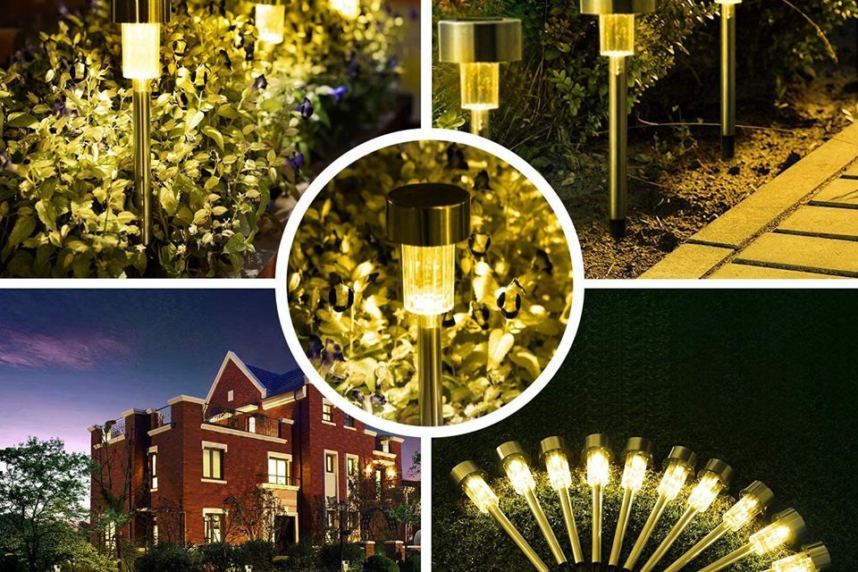 Free USB chargers and  Stainless Steel Solar Lights