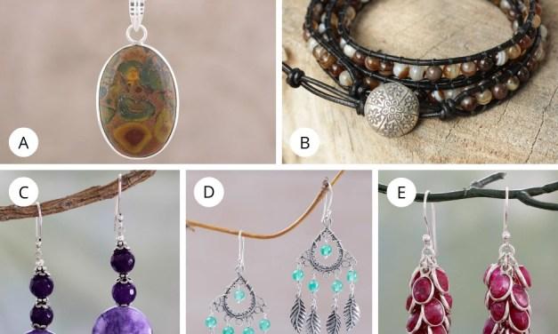 Novica Agate Jewelry Giveaway
