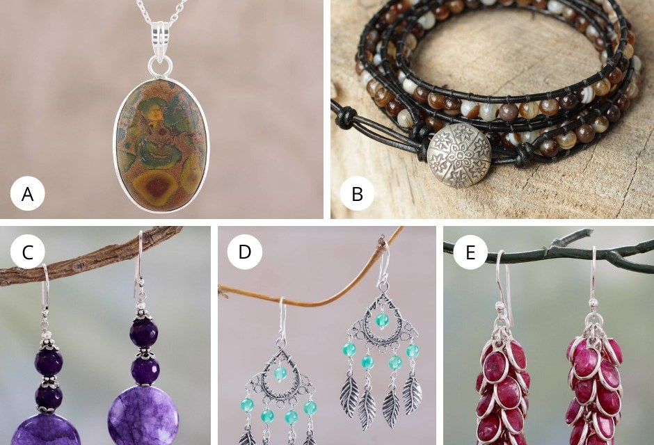 Novica Agate Jewelry Giveaway