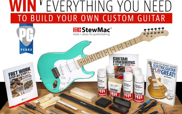 StewMac Custom Guitar Build Kit Giveaway