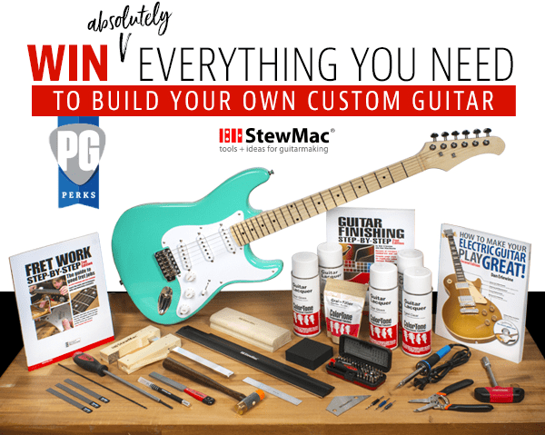 StewMac Custom Guitar Build Kit Giveaway