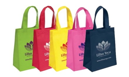 Free HALO Small Non-Woven Tote Bag